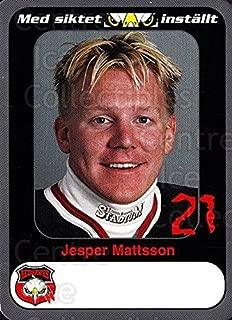 (CI) Jesper Mattsson Hockey Card 1999-00 Swedish Malmo Redhawks Team Issue 4 Jesper Mattsson