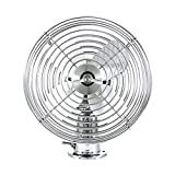 United Pacific Chrome 6' Heavy Duty Fan - 12V