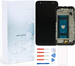 Maojia Screen Replacement Compatible for LG X Power 2 M320N M320 X 320 X320L X320S/X Charge SP320/X Change US601/Fiesta 2 LTE L164VL L163BL LCD Display Touch Digitizer Frame Assembly + Tools (Black)