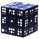 SHCOE 3D Grabado en Relieve de Tercer Orden Dactilar de Huella Digital estéreo mágico Cubo en Relieve Personalidad Infantil Puzzle- Pandora Box,Negro