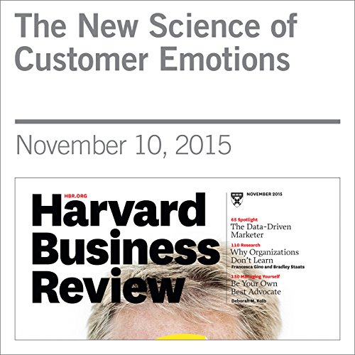 The New Science of Customer Emotions audiobook cover art