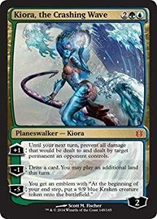 Magic: the Gathering - Kiora. the Crashing Wave (149/165) - Born of the Gods