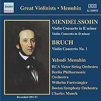 Mendelssohn/Bruch:Violin Concs
