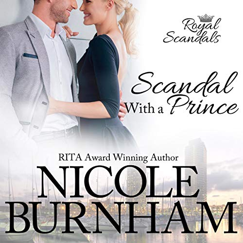 Scandal with a Prince audiobook cover art