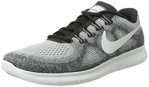 Nike Herren Free RN 2017 Laufschuhe, Grau (Wolf Grey/Off White-Pure Platinum-Black), 40 EU