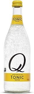 Q Mixers Tonic Water, Premium Cocktail Mixer, 500 mL (6 Bottles)