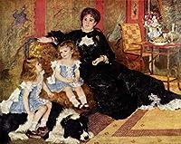 500ピース ジグソーパズル ルノワール夫人ジョージ・カーペンターとその子供たち 教育玩具の誕生日プレゼント 大人と子供のため 解圧游戏
