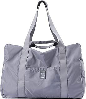 Travel Duffel Bag, Foldable Sports Duffels Gym Bag, Outdoor Totes, Sports Lightweight Shoulder Handbag, Rainproof Nylon Duffle Bags for Women & Men, Outdoor Weekend Bag, P.Travel Series