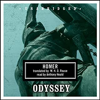 Odyssey     The Story of Odysseus              De :                                                                                                                                 Homer,                                                                                        W. H. D. Rouse - translator                               Lu par :                                                                                                                                 Anthony Heald                      Durée : 11 h et 27 min     Pas de notations     Global 0,0