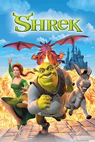 JIUZI Puzzles 1000 Für Erwachsene Jugendliche | Shrek | 1000 Stück Puzzlespiele Für Erwachsene Und Kind, Spielzeug Geschenk Für Wanddekoration -75X50Cm