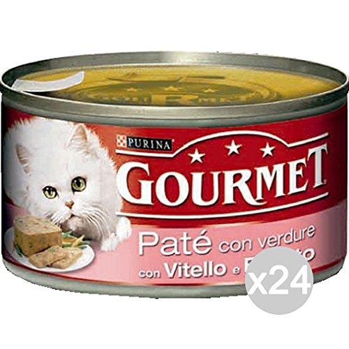 Purina Lot 24 Gourmet canettes Veau prosc/Form.195 Pate 'Nourriture pour Chats
