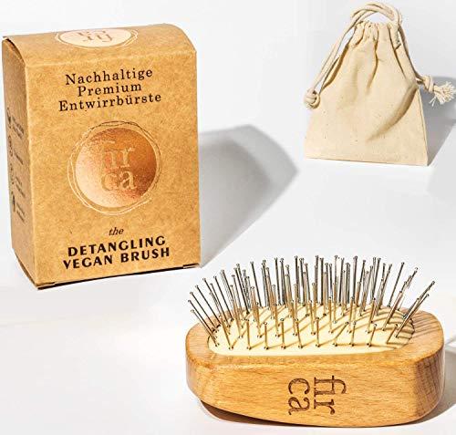 firca® Nachhaltige Entwirrungsbürste | Detangler Bürste aus Holz | Detangling Brush handgemacht | Entwirrung Premium