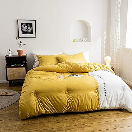 AMYZ Hochwertige Daunendecken,Bettdeckenkern-Polyesterfaserfüllung,weiche,seidige Decken,Daunendecken,180 * 220 cm3 kg