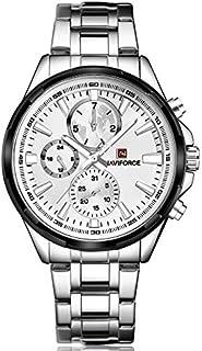 ساعة رسمية للرجال من نافي فورس 9089  S-W، انالوج بعقارب