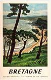 Poster Bretagne, Reproduktion, Format 50 x 70 cm auf Papier