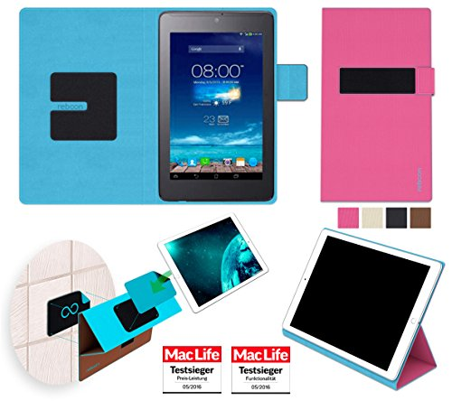 Hülle für Asus FonePad 7 ME372CG Tasche Cover Hülle Bumper | in Pink | Testsieger