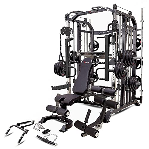 MiM USA Hercules 1001, Commercial Smith Machine, Functional Trainer, Power Cage, Leg Press, Dip...