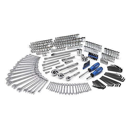 Kobalt 856855 300-Piece Advanced Mechanic's Tool Set in Foam Trays, Inch/Metric