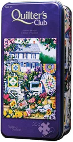 Spring Dance 300-pc Jigsaw in Collector Tin by Masterpiece
