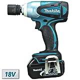 Makita BTW251RFE 18V Cordless Impact Wrench (2 Batteries)