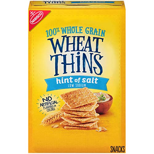 Wheat Thins Hint of Salt Whole Grain Low Sodium Crackers, 9.1 oz -  Hammers and Heels, 7OMBREBSILV_SS_UL