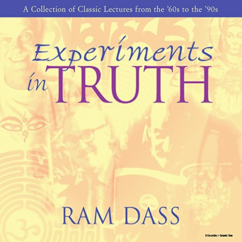 Experiments in Truth audiobook cover art