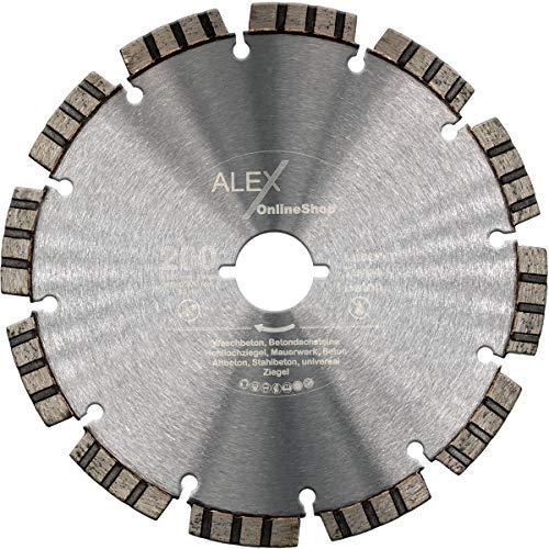 PREMIUM Diamant-Trennscheibe Ø 200 mm passend für Lamello Tanga DX200 Trenn-Fräsmaschine Fenster-Fräse 200mm Beton