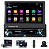 CAMECHO Android 10.0 Single Din Car Stereo Bluetooth...