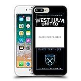 Head Case Designs sous Licence Officielle West Ham United FC Coutume Personnalisé Crête 2 Bordeaux...