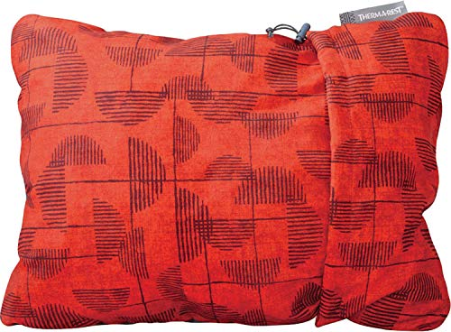 Therm-a-Rest Compressible Kissen XL red Print 2020