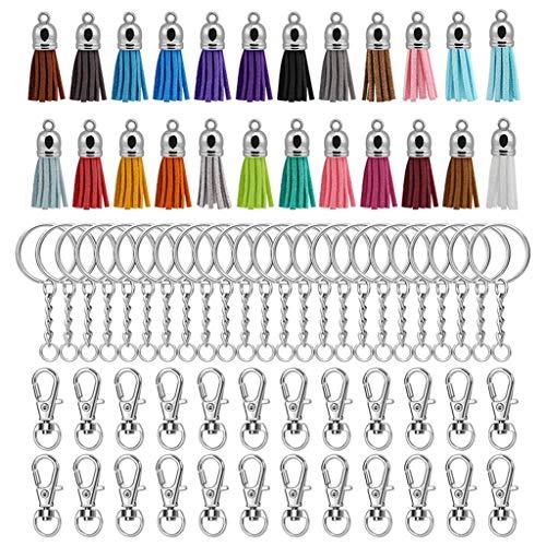 Viesky Llavero, llavero, anillos, colgantes, borla para manualidades, joyas, pendientes, accesorios