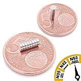 Brudazon | 10 Mini Scheiben-Magnete 3x1mm | N52 stärkste Stufe - Neodym-Magnete ultrastark |...