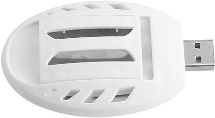 Fdit Mosquito Eléctrico Portátil Mini USB Powered Trampa de Insectos Repelente de Insectos para Hogar