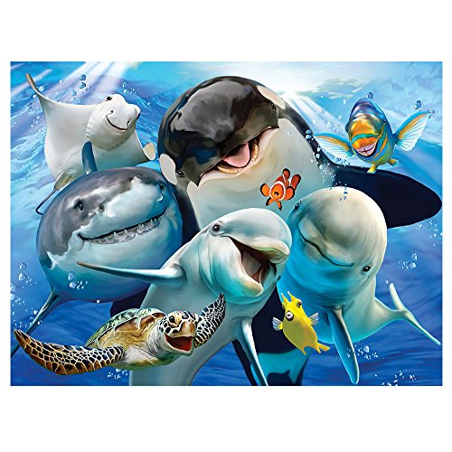 Howard Robinson HR28552 Selfie Ocean Super 3D Children's Wall Poster
