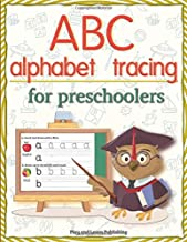 ABC Alphabet tracing for preschoolers: Workbook activities practice books paper for preschool Toddler or kindergarten, PK, K, 1st Grade, Paperback or ... Fun with ABC tracing sheets,8.5x11 inches