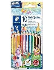 Staedtler Noris Club jumbo 128 NC10 kredki, zestaw 10 żywych kolorów