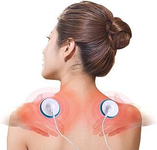 LYHD Decenas De Electroestimulador Alivio del Dolor y Rehabilitación Muscular, Aplicadores de Masaje de Pulso Recuperables Pueden Conectar Teléfono Móvil