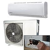 9000BTU Panasonic Klimaanlage mit DC-Inverttechnologie, mit 4Meter Rohr-Kit, mit...