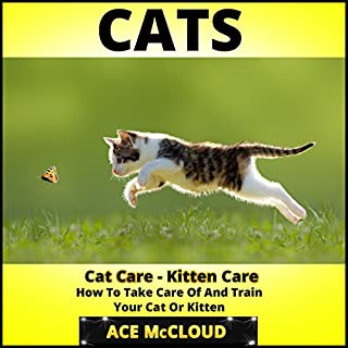 Cats: Cat Care- Kitten Care- How to Take Care of and Train Your Cat or Kitten audiobook cover art