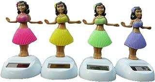 Ogquaton Colores de Primera Calidad de pl/ástico con energ/ía Solar Bailando Hula Girls Hula