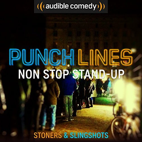 Ep. 4: An Epic Hour of Stand-up (Punchlines) audiobook cover art