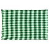 Cuscino termico - Noccioli di ciliegia - verde-bianco - 30x20cm - Terapia caldo e freddo