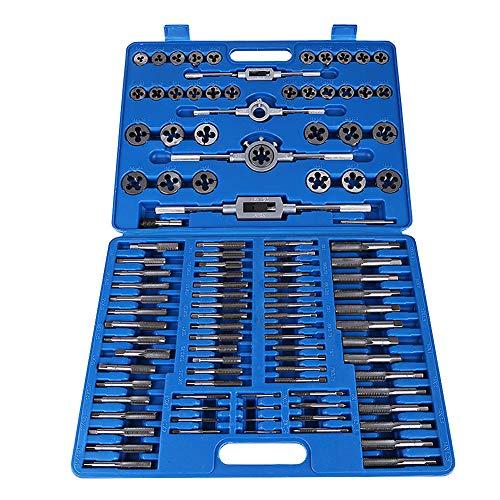 Juego de machos y terrajas M2-M18, 110 unidades/juego M2-M18 profesional de machos y terrajas de acero
