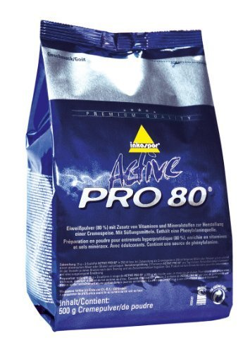 Inko Active Pro 80 Beutel Vanille 500g (D)