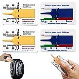 Coche y moto Herramientas para coche Herramientas de diagnóstico, test y medidores Medidores de la profundidad del dibujo del neumático