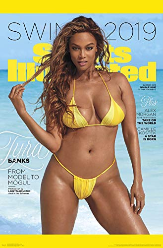 Trends International Sports Illustrated: Swimsuit Edition - Tyra Cover Wall Poster, 22.375