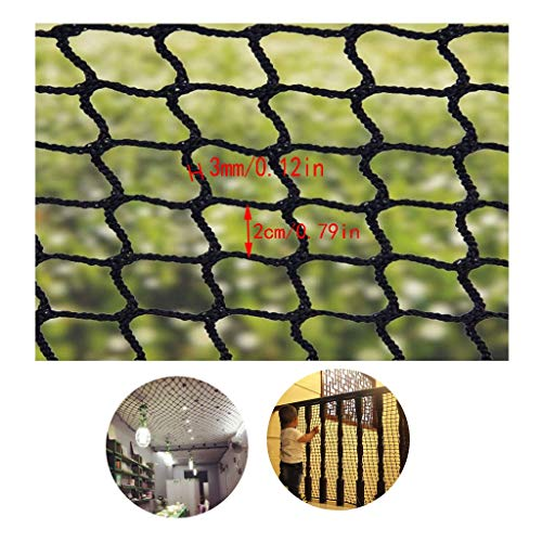 Why Choose Balcony/Stairway/Patio Railing Safety Net Black Decorative Net Children's Stair Safety Ne...