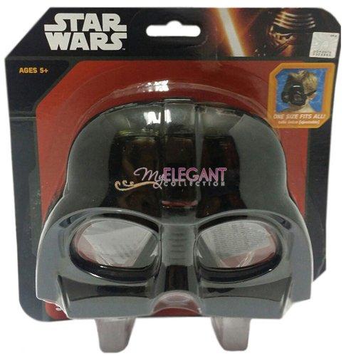 Star Wars mk902vd Officiel Darth Vader Masque de Bain et Lunettes de Natation (Taille Unique)