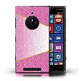 Stuff4 Phone Case for Nokia Lumia 830 Glitter Pattern