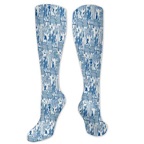 Calcetines de compresión graduados para mujeres y hombres, circulación, correr, deportes